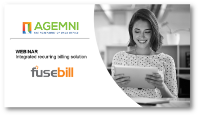 Fusebill Agemni recurring billing