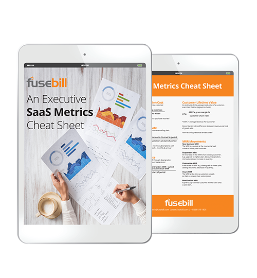 Fusebill SaaS Metrics Cheat Sheet