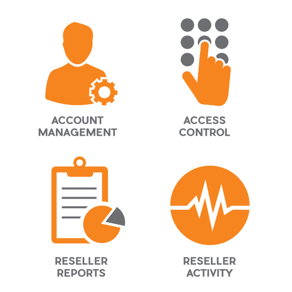 Control all aspects of reseller management. Fusebill can provide account management, access control, reseller reports and activity logging.