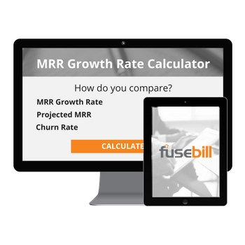 Fusebill MRR (Monthly Recurring Revenue) Growth Rate Calculator