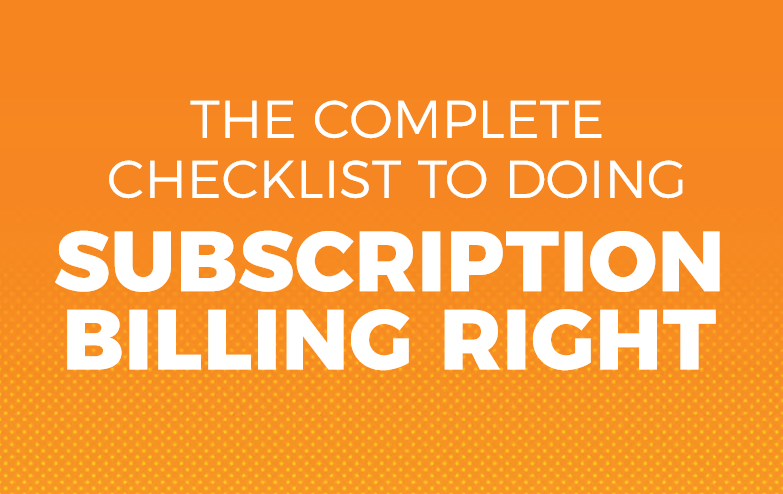 Fusebill Subscription billing checklist